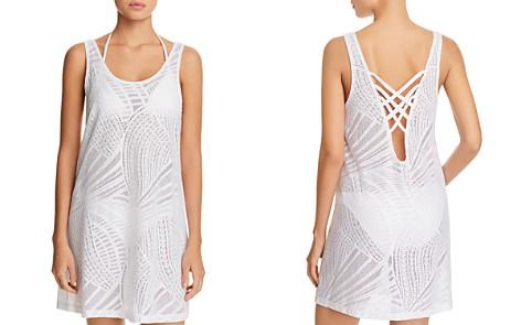 J. Valdi Lattice Back Dress Swim Cover-Up - Bloomingdale's_2
