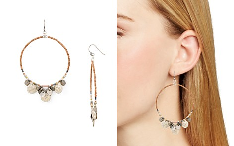 Chan Luu Mix Beaded Multicharm Hoop Earrings - Bloomingdale's_2