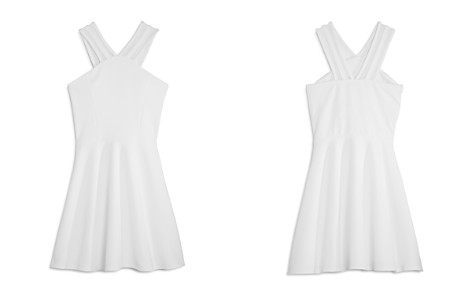 Sally Miller Girls' Malia Fit-and-Flare Dress with Mesh Straps - Big Kid - Bloomingdale's_2