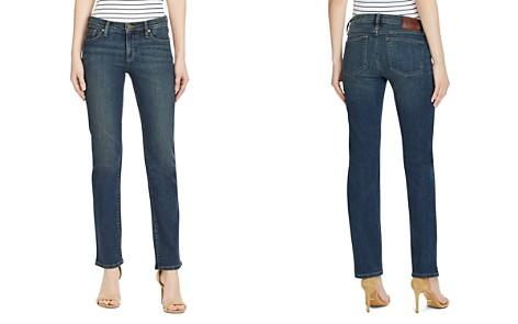 Lauren Ralph Lauren Slimming Classic Straight-Leg Jeans in Harbor - Bloomingdale's_2