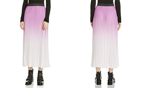 Maje Jonael Ombré Pleated Skirt - Bloomingdale's_2