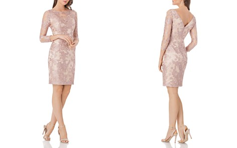 JS Collections Lace Cocktail Dress - Bloomingdale's_2