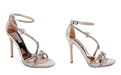 Badgley Mischka Women's Hodge Embellished Satin Strappy High-Heel Sandals - Bloomingdale's_2