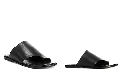 Vince Women's Edris Leather Slide Sandals - Bloomingdale's_2