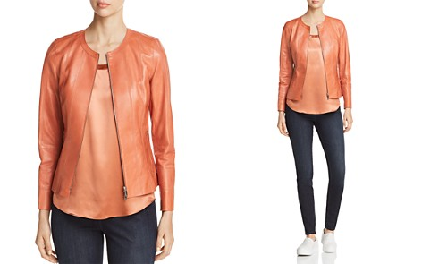 Lafayette 148 New York Courtney Leather Jacket - Bloomingdale's_2