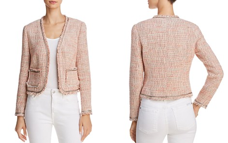 Rebecca Taylor Fringed Tweed Jacket - Bloomingdale's_2