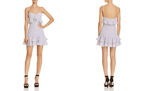 LIKELY Norah Ruffled Polka Dot Mini Dress - Bloomingdale's_2