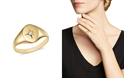 Zoë Chicco 14K Yellow Gold Diamond Star Signet Ring - Bloomingdale's_2