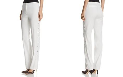Elie Tahari Theora Embellished Straight-Leg Pants - Bloomingdale's_2