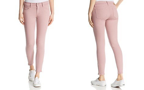 Mavi Adriana Ankle Zip Skinny Jeans in Light Rose Twill - Bloomingdale's_2