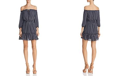 BB DAKOTA McKenna Striped Off-the-Shoulder Dress - Bloomingdale's_2
