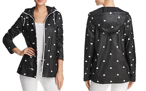 AQUA Heart Print Hooded Raincoat - 100% Exclusive - Bloomingdale's_2