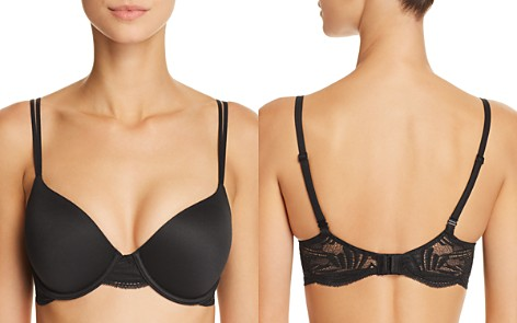 Calvin Klein Perfectly Fit Firework Lace Convertible Contour Bra - Bloomingdale's_2