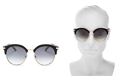 Jimmy Choo Hally Round Sunglasses, 54mm - Bloomingdale's_2