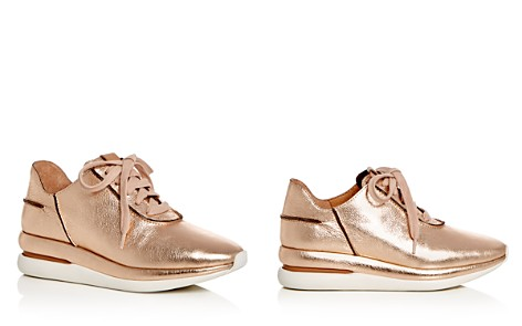 Gentle Souls Women's Raina Leather Lace Up Wedge Sneakers - Bloomingdale's_2