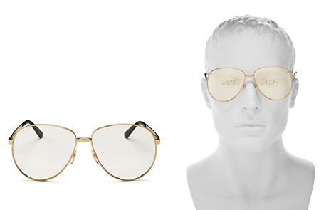 Gucci Vintage Web Polarized Round Sunglasses, 65mm - Bloomingdale's_2