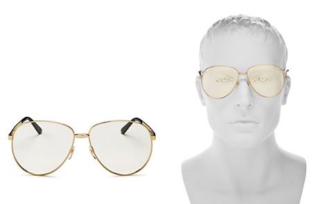 Gucci Men's Vintage Web Polarized Round Sunglasses, 65mm - Bloomingdale's_2