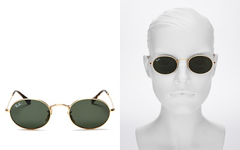 Ray-Ban Unisex Oval Sunglasses, 54mm - Bloomingdale's_2