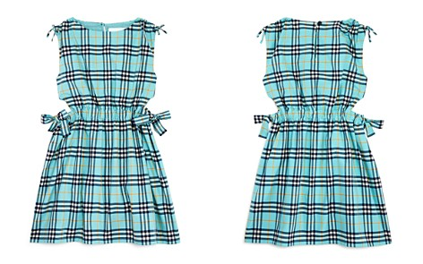 Burberry Girls' Bow Detail Check Cotton Dress - Little Kid, Big Kid - Bloomingdale's_2