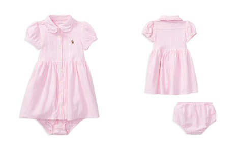 Ralph Lauren Girls' Oxford Striped Dress & Bloomers Set - Baby - Bloomingdale's_2
