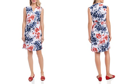 Foxcroft Sleeveless Floral Print Dress - Bloomingdale's_2