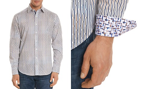 Robert Graham Trinidad Striped Classic Fit Button-Down Shirt - Bloomingdale's_2
