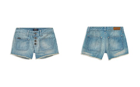 Polo Ralph Lauren Girls' Button-Front Shorts - Big Kid - Bloomingdale's_2