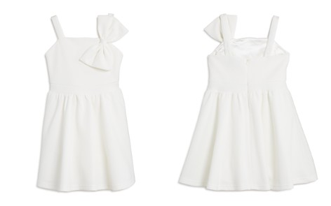 Bardot Junior Girls' Textured Bow Dress - Little Kid - Bloomingdale's_2