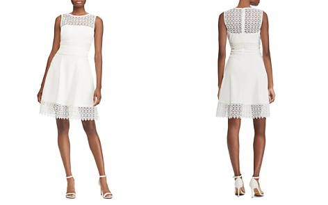 Lauren Ralph Lauren Lace Inset Dress - Bloomingdale's_2