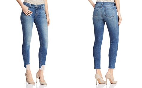 J Brand 811 Mid Rise Skinny Jeans in Gossamer - Bloomingdale's_2