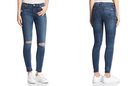 Hudson Nico Mid Rise Ankle Super Skinny Jeans in Confession - Bloomingdale's_2