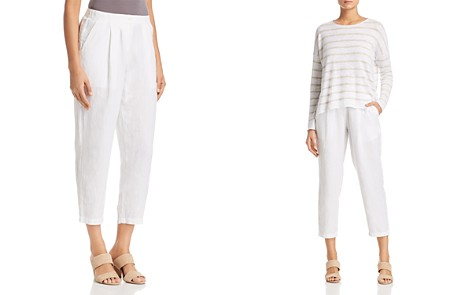 Eileen Fisher Petites Relaxed Ankle Trouser - Bloomingdale's_2