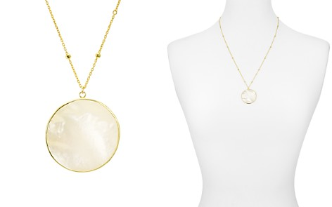 """Argento Vivo Mother-of-Pearl Circle Pendant Necklace, 22"""" - Bloomingdale's_2"""