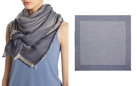 Abstract Bordered Tonal Scarf - 100% Exclusive - Bloomingdale's_2