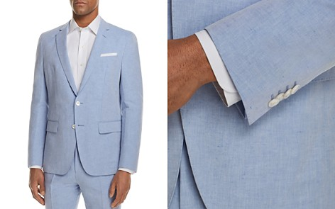 BOSS Linen Solid Slim Fit Sport Coat - Bloomingdale's_2