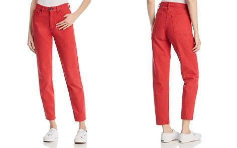rag & bone/JEAN Ash Straight-Leg Jeans in Bull Red - Bloomingdale's_2