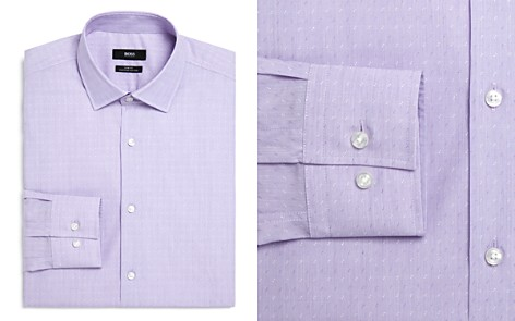 BOSS Dobby Slim Fit Dress Shirt - Bloomingdale's_2