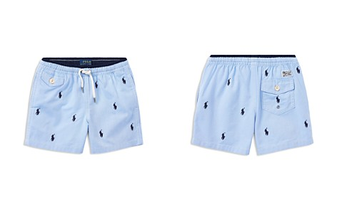 Polo Ralph Lauren Boys' Embroidered Swim Trunks - Little Kid - Bloomingdale's_2