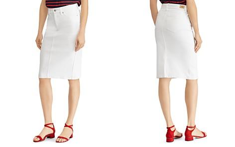 Lauren Ralph Lauren Stretch-Denim Pencil Skirt - Bloomingdale's_2