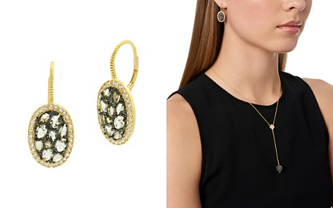 Freida Rothman Rose d'Or Pavé Cluster Drop Earrings - Bloomingdale's_2
