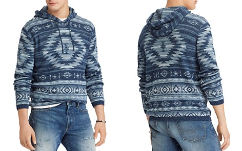 Polo Ralph Lauren Patterned Hooded Sweater - Bloomingdale's_2