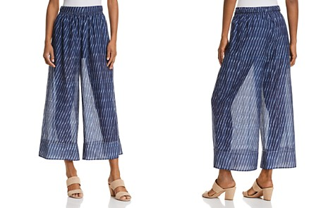 Theory Sheer Printed Culottes - Bloomingdale's_2