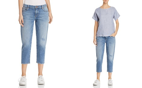 Eileen Fisher Petites Cropped Tapered Jeans - Bloomingdale's_2