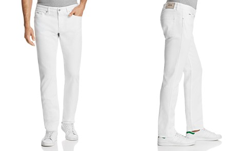 BOSS Delaware Slim Fit Jeans in White - Bloomingdale's_2