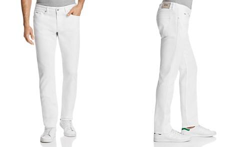 BOSS Delaware Slim Fit Jeans in White - Bloomingdale's_2