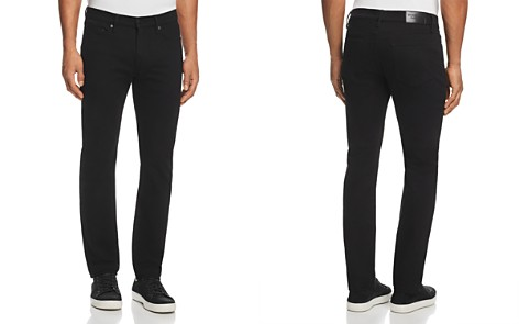 Burberry Slim Fit Jeans in Black - Bloomingdale's_2