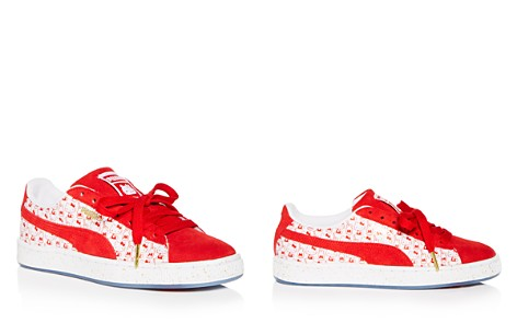 PUMA Women's Hello Kitty Classic Suede & Leather Lace Up Sneakers - Bloomingdale's_2