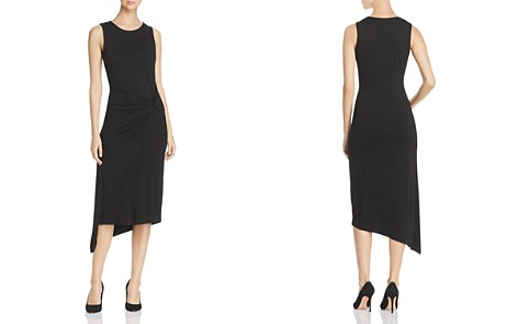 VINCE CAMUTO Twist-Front Asymmetric Midi Dress - 100% Exclusive - Bloomingdale's_2