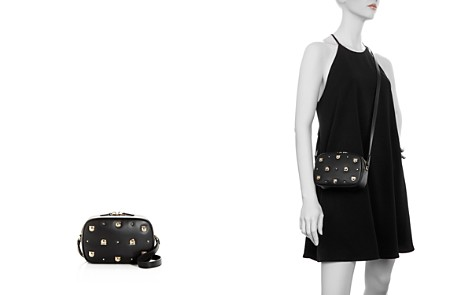 Salvatore Ferragamo Studded Leather Crossbody - Bloomingdale's_2