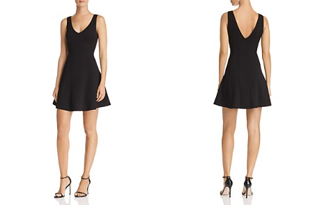 AQUA Seamed Fit-and-Flare Dress - 100% Exclusive - Bloomingdale's_2